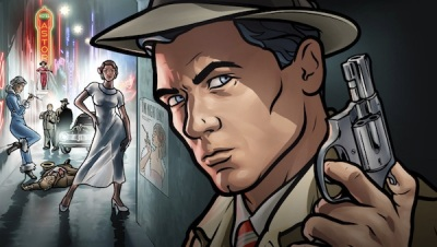archer season 8 - dreamland Sexy woman